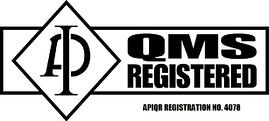 ISO logo with registration